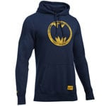 Under Armour Retro Batman Hoodie 1280972-410 Midnight Navy