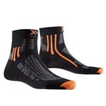 X-Bionic Run Speed Two Herren-Laufsocken Black/Grey