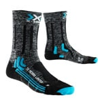 X-Bionic Trekking Merino Limited Damen-Outdoorsocken Grey/Black