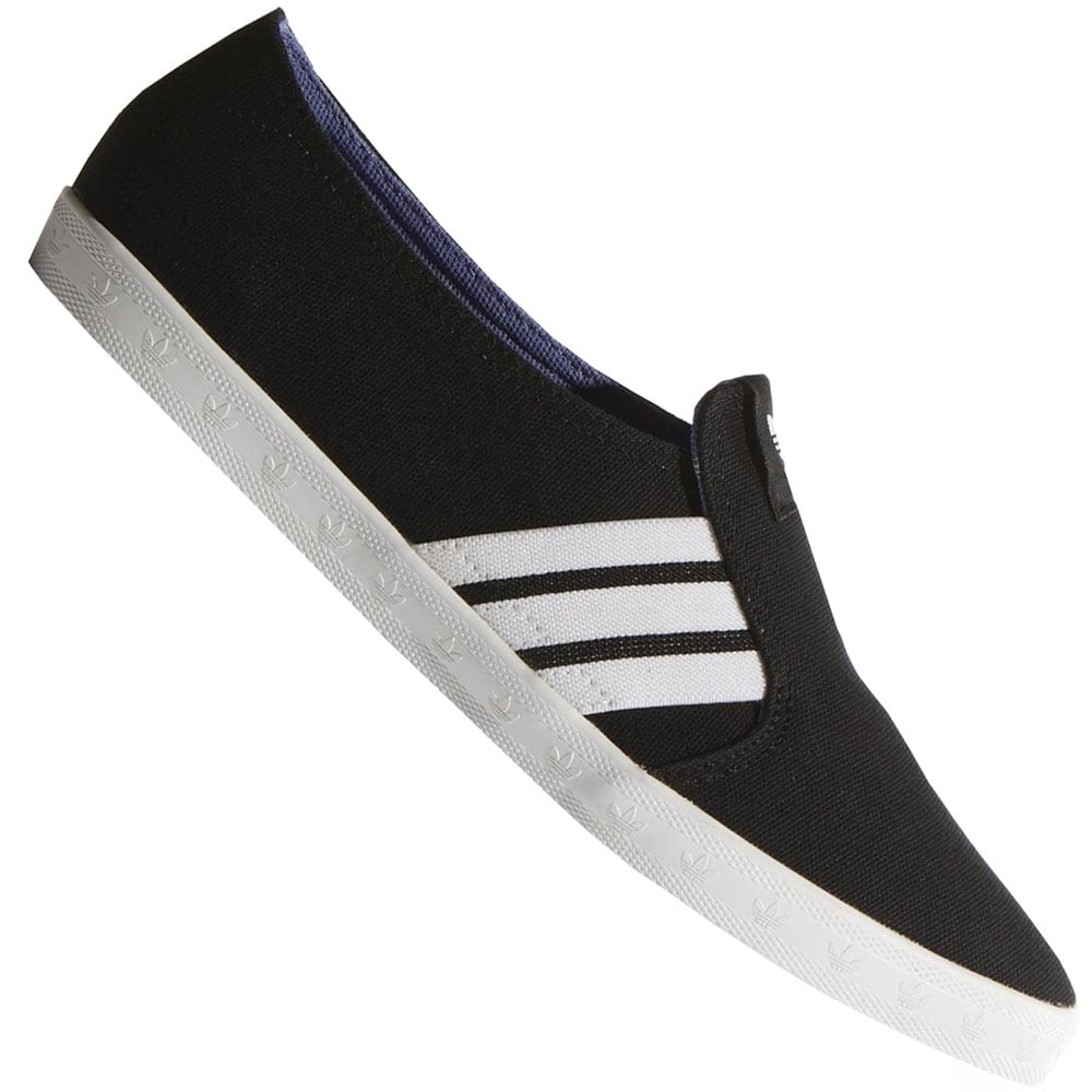 adidas adria ps slip on damen sneaker m19530 black white. Black Bedroom Furniture Sets. Home Design Ideas