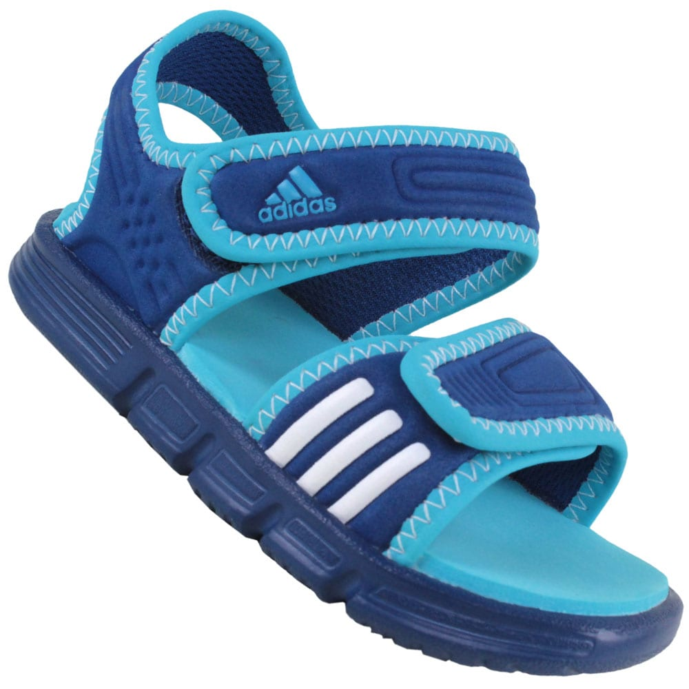 Adidas Akwah 7 Kindersandalen V21629 (power blue) | Fun ...