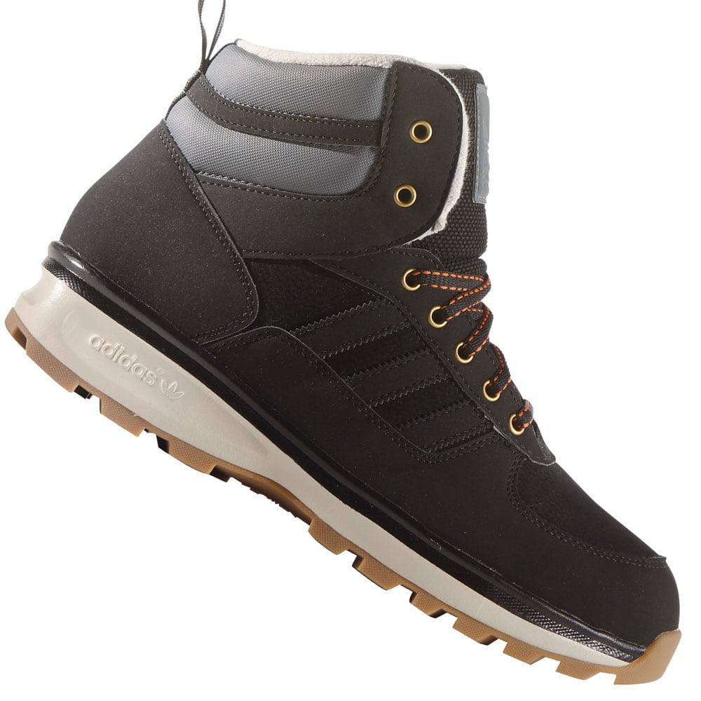 adidas originals chasker boot winterschuh b24877 black clear brown fun sport vision. Black Bedroom Furniture Sets. Home Design Ideas