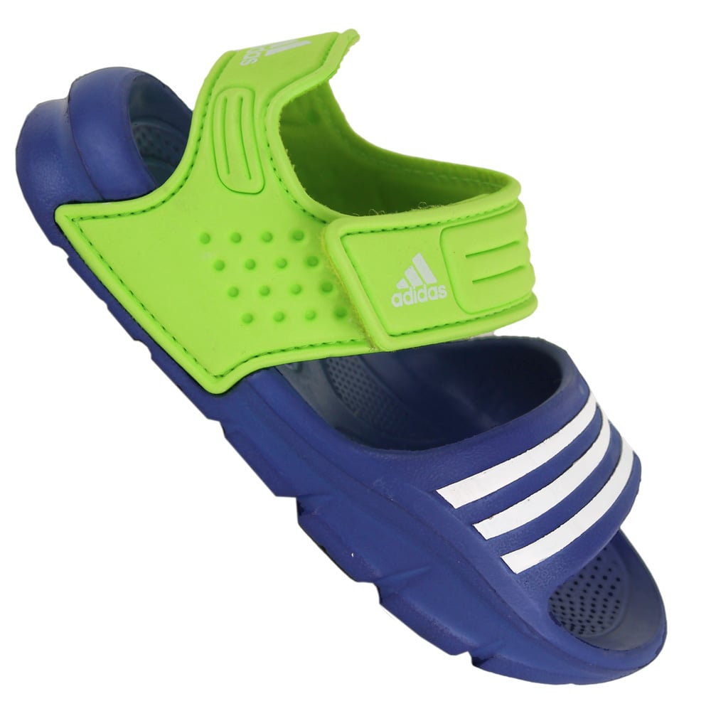 adidas akwah 8 l kinder badeschuhe d65555 blue green. Black Bedroom Furniture Sets. Home Design Ideas