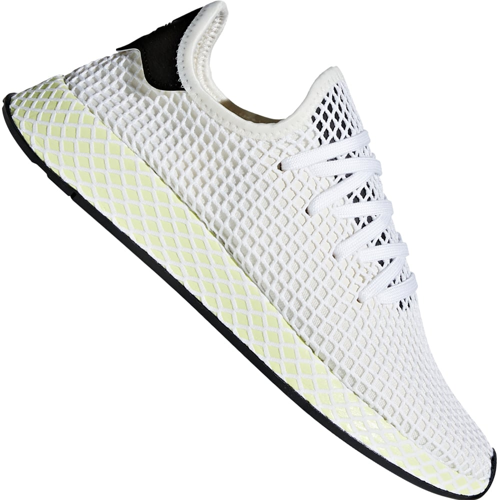 190eb807793 adidas Originals Deerupt Runner Unisex-Sneaker Chalk White