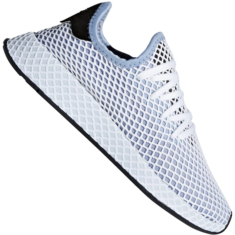 9c12e3fc056d18 adidas Originals Deerupt Runner W Damen-Sneaker Chalk Blue