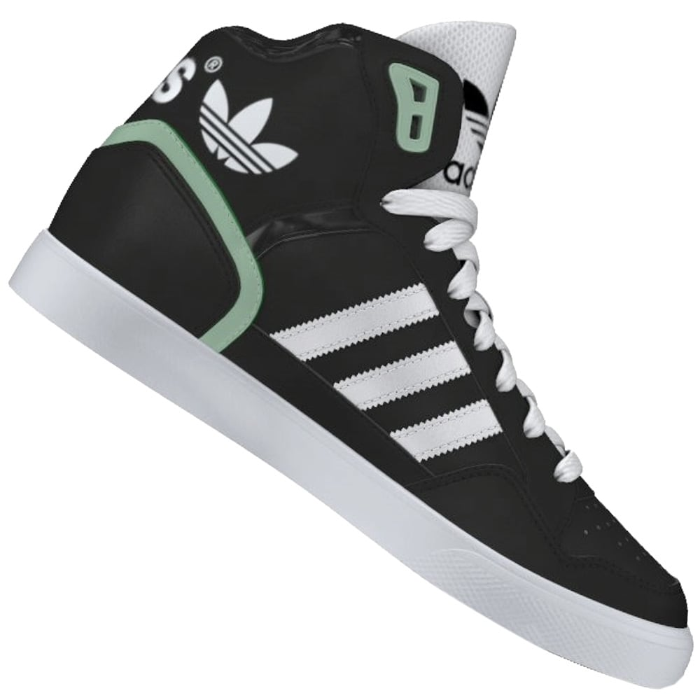 Adidas Originals EXTABALL Damen High Top Sneaker Weiß und