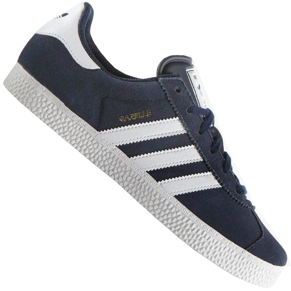 adidas Originals Gazelle 2 J Kinder-Sneaker B24620 Navy/White