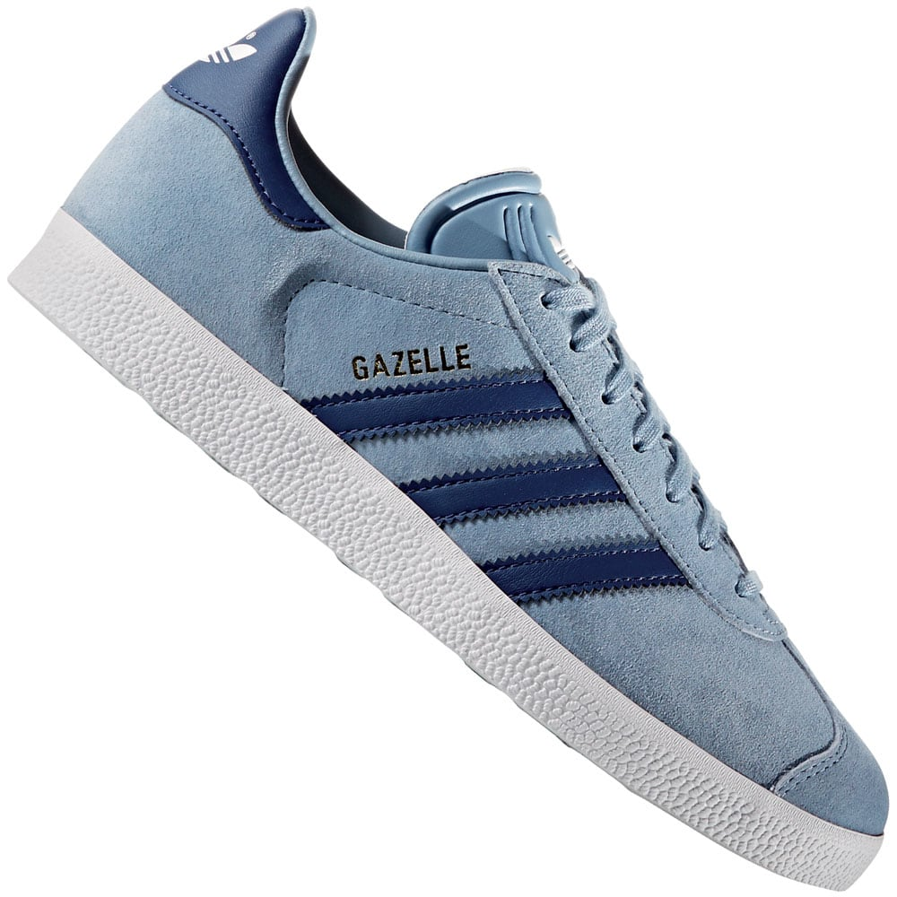 adidas originals gazelle w damen sneaker tactile blue. Black Bedroom Furniture Sets. Home Design Ideas