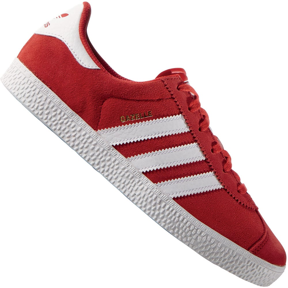 lowest price a2660 c2784 adidas Originals Gazelle 2 J Kinder-Sneaker S74758 Lush Red