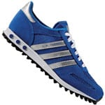 adidas Originals LA Trainer J Sneaker Royal/Silver Metallic