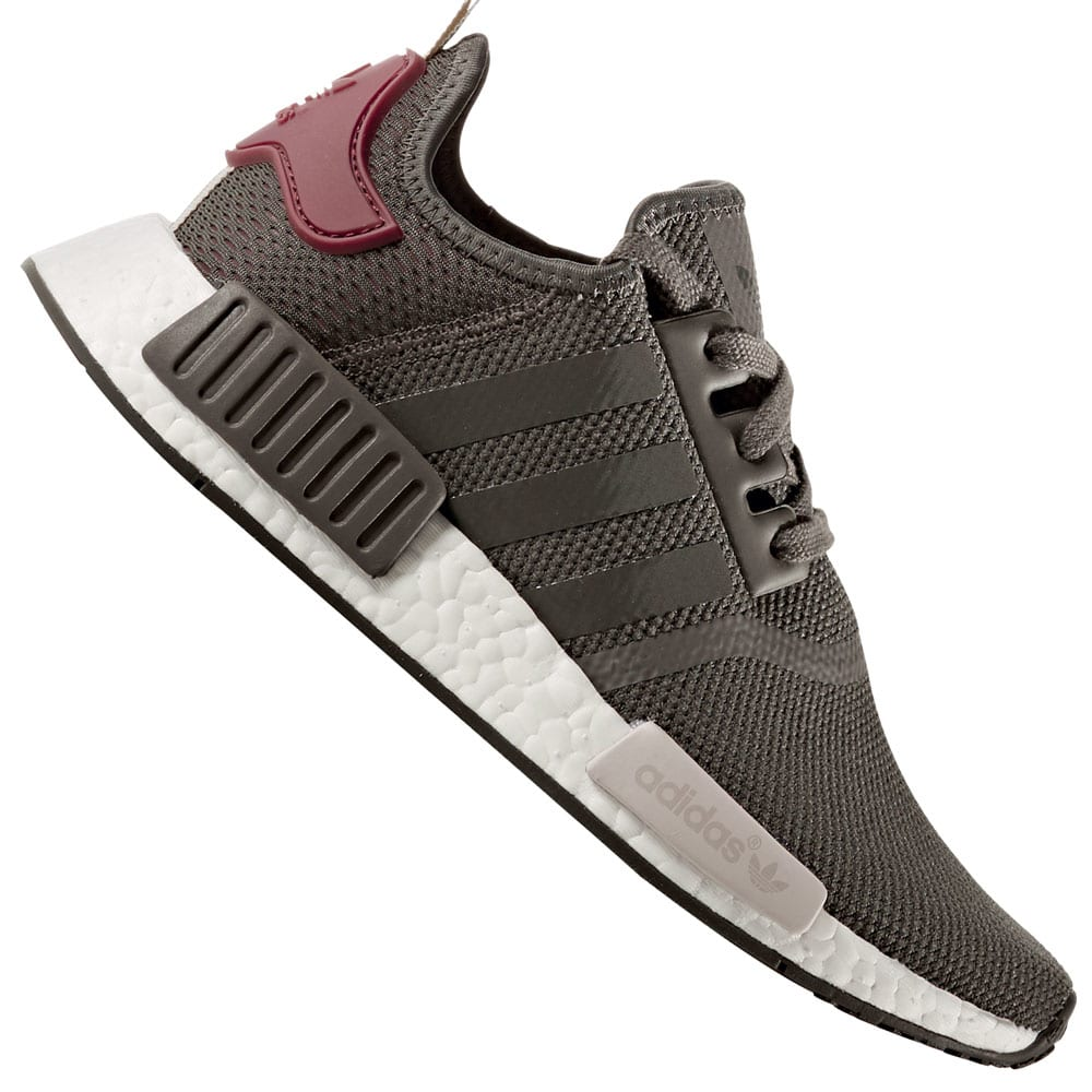 adidas nmd grau with maroon. Black Bedroom Furniture Sets. Home Design Ideas