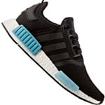 adidas Originals NMD_R1 W Damen-Sneaker Black/Icey Blue