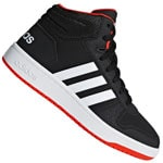 adidas Performance Hoops MID 2.0 Kids Kinder-Turnschuhe Core Black