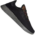 adidas Originals Deerupt Runner Sneaker Black Sesame
