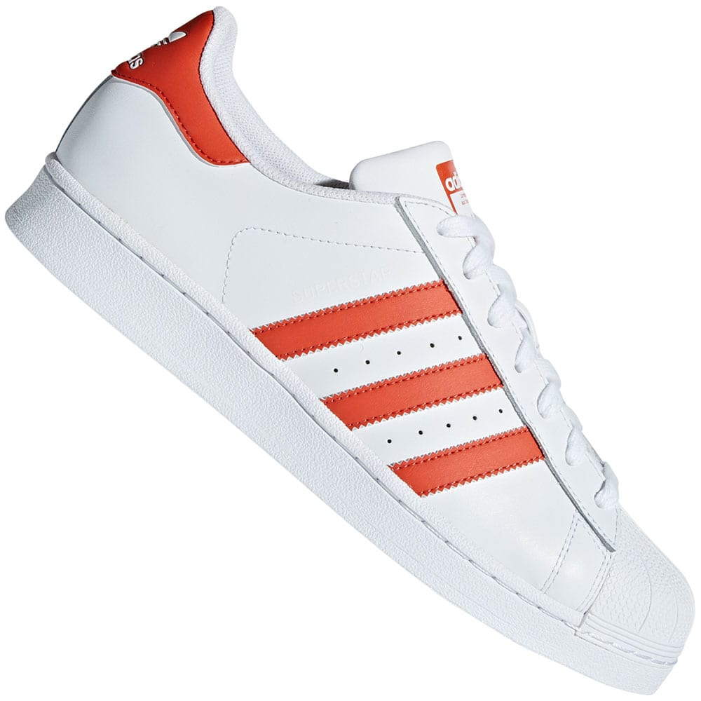 adidas Originals Superstar White/Raw Amber