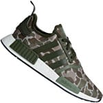 adidas Originals NMD_R1 Unisex-Sneaker Sesame/Trace Cargo/Base Green