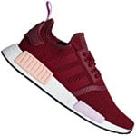 adidas Originals NMD_R1 Damen-Sneaker Burgundy/Orange