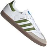 adidas Originals Samba Sneaker White/Tech Olive