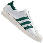 adidas Originals Superstar 80s Sneaker White/Collegiate Green