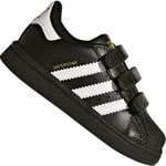 adidas Originals Superstar CF I Kinder-Sneaker Core Black White