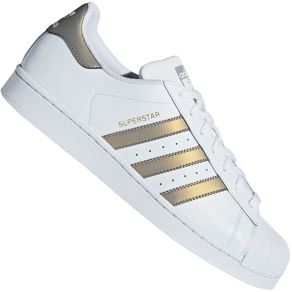 adidas Originals Superstar Sneaker White/Grey Four