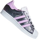 adidas Originals Superstar J Sneaker White/Clear Lilac