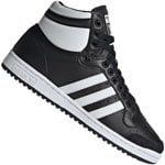 adidas Originals Top Ten Hi Sneaker Black White