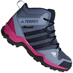 adidas Performance Terrex AX2R MID CP Kinder-Wanderschuhe Tech Ink
