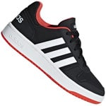 adidas Performance Hoops 2.0 Kids Kinder-Turnschuhe Core Black/White