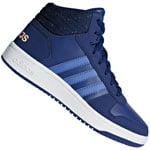 adidas Performance Hoops MID Kids Kinder-Turnschuhe Mystery Ink