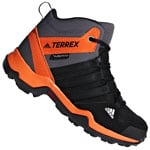 adidas Performance Terrex AX2R MID CP Kinder-Wanderschuhe Black Orange