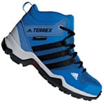 adidas Performance Terrex AX2R MID Kinder-Winterschuhe Blue Beauty