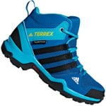 adidas Performance Terrex AX2R MID CP Kinder-Wanderschuhe Blue Beauty
