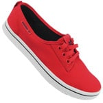 adidas Honey Plimsole W Sneaker Q23264 (Red/Legend Ink)