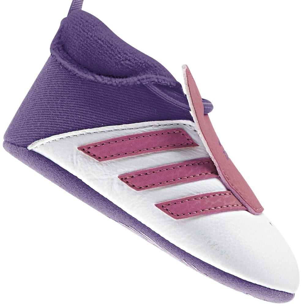 Adidas Relino Crib B39938 White/Flash Pink/Night Flash