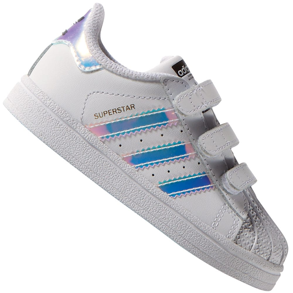 the latest 4bda9 25a15 adidas Originals Superstar CF Klettverschluss-Sneaker 2016