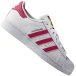 adidas Originals Superstar Foundation J Sneaker White/Pink/White
