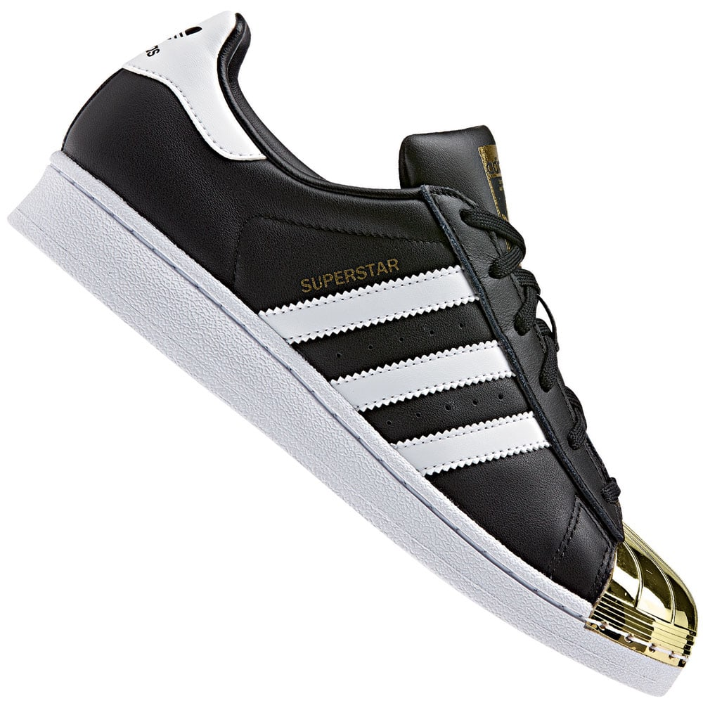 adidas Originals Superstar Metal Toe W Damen-Sneaker Black/Gold