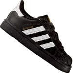 adidas Originals Superstar I Kleinkind-Sneaker Black/White