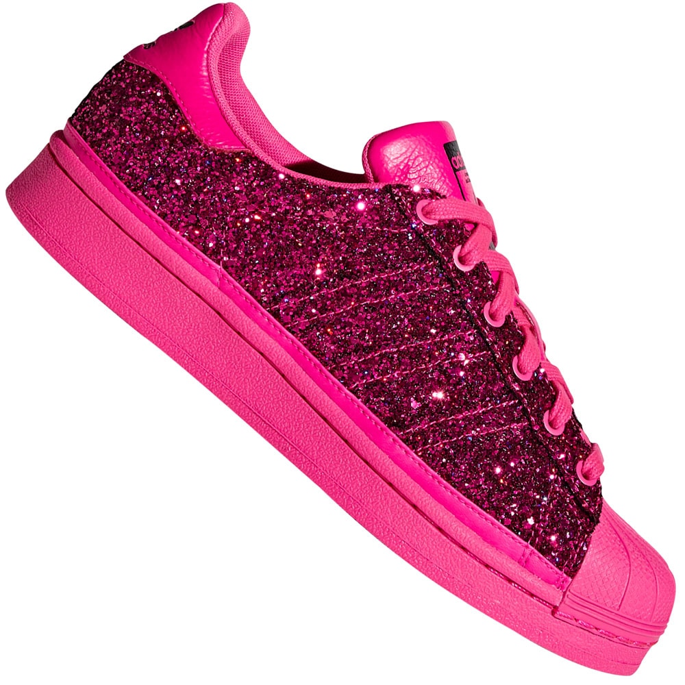adidas Originals Superstar Sneaker Shock Pink