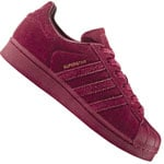 adidas Originals Superstar J Sneaker CG3738 Burgundy