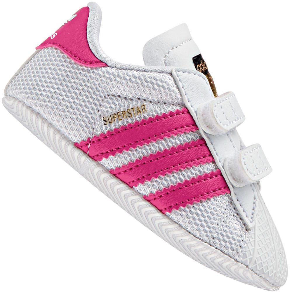 adidas Originals Superstar Crib Kleinkind-Schuhe White/Pink