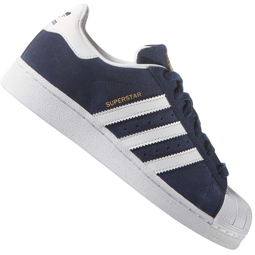 3f91661eca2e04 adidas Originals Superstar J Sneaker Navy White