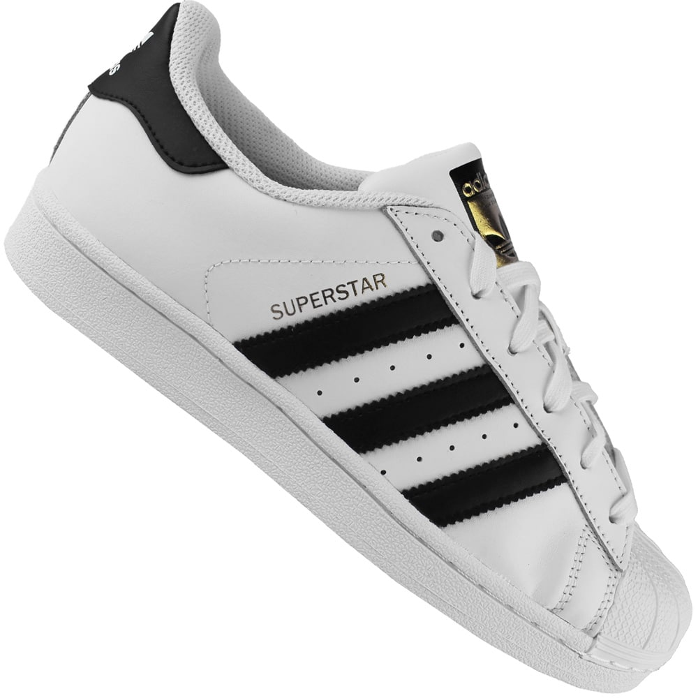 adidas superstar j damen weiß