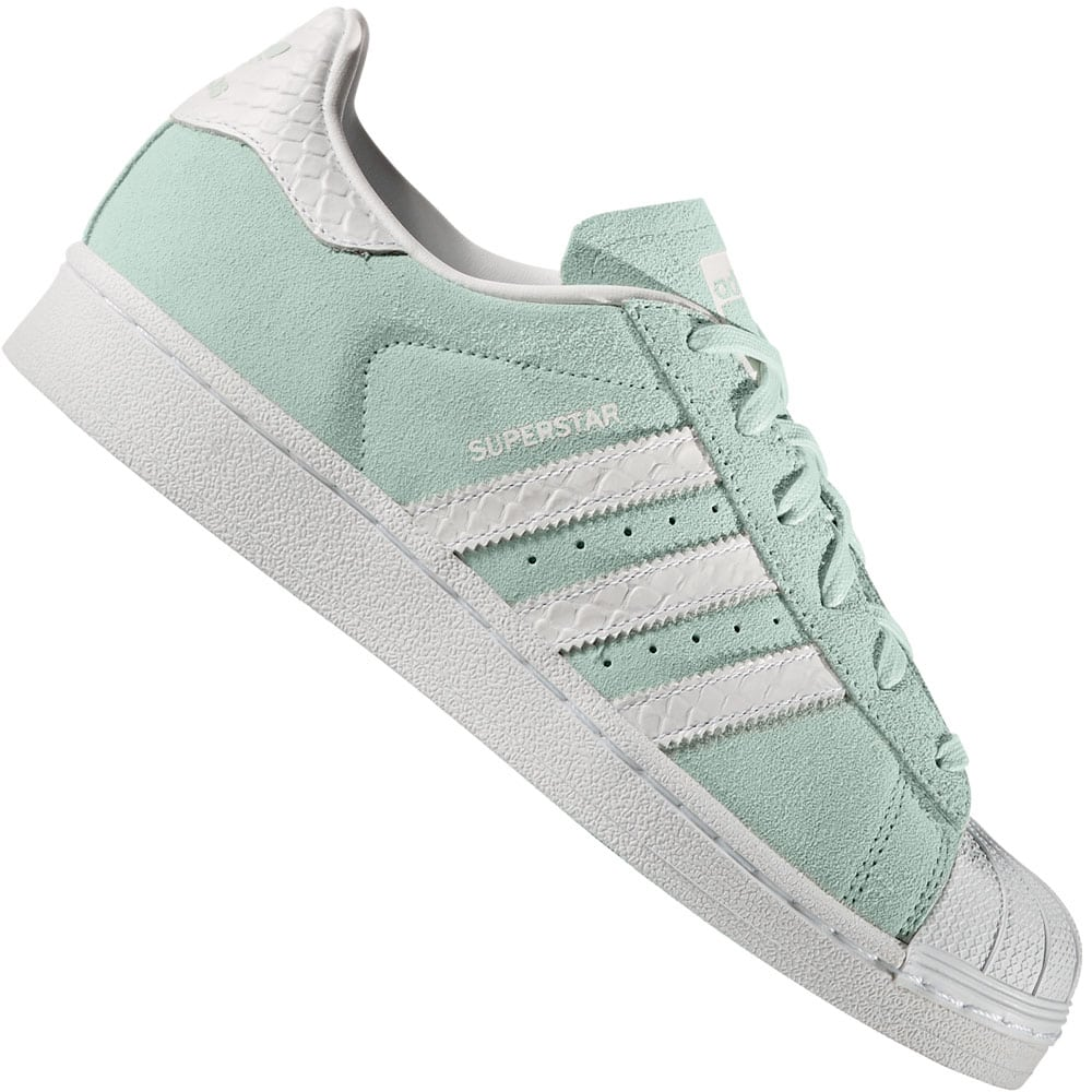 Buy superstar 80s primeknit womens Green cheap Rimslow