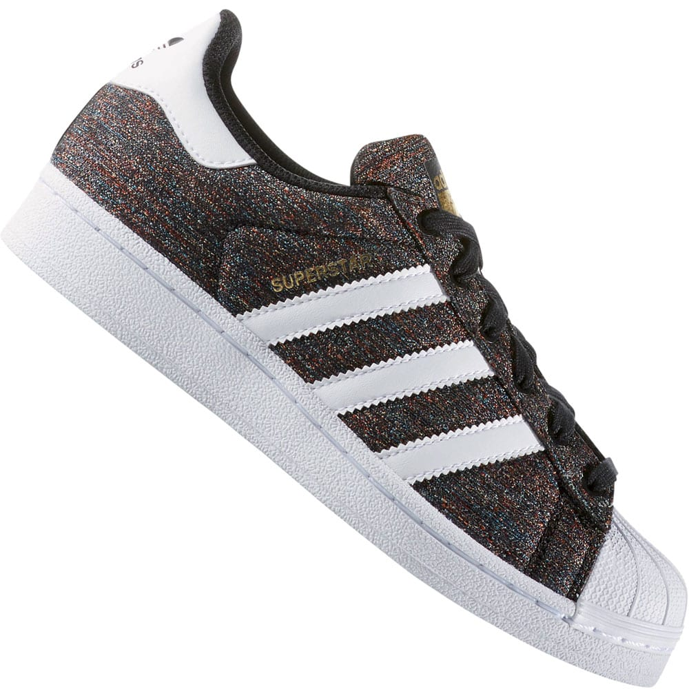 new arrival 0ada8 8cb0c adidas Originals Superstar J Sneaker Multicolor White
