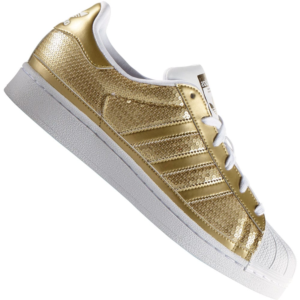 adidas originals superstar damen sneaker s83383 gold metallic fun sport vision. Black Bedroom Furniture Sets. Home Design Ideas