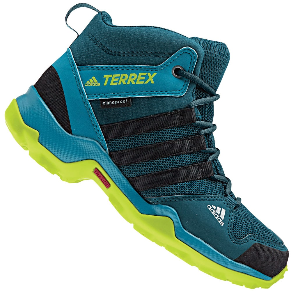 adidas performance terrex ax2r mid k winterschuhe blue. Black Bedroom Furniture Sets. Home Design Ideas