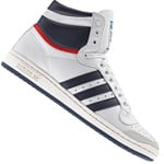 adidas Top Ten Hi Sneaker D65161 White/Navy/Red