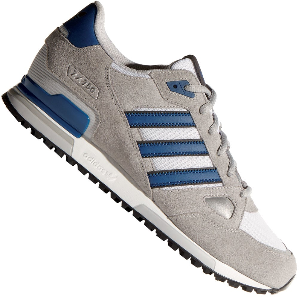 adidas zx 750 b39988 herren sneaker solid grey dark marine. Black Bedroom Furniture Sets. Home Design Ideas